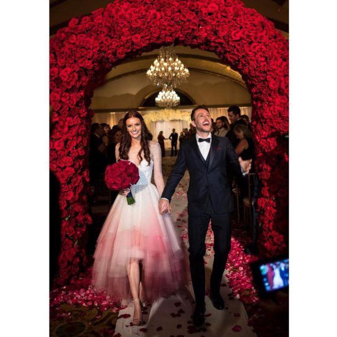 Celebrity Who Wore Unconventional Wedding Dresses: Lydia Hearst | Celebrity Weddings