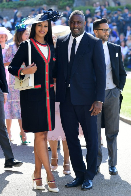 Sabrina Dhowre & Idris Elba