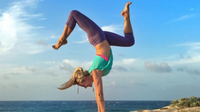 The internet's biggest yogi just slammed