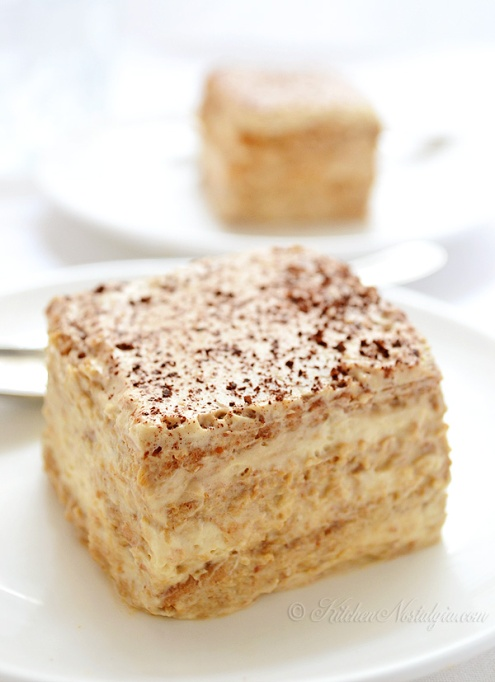 Easy No-Bake Thanksgiving Desserts: Cappuccino Icebox Cake