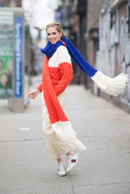 Blanket Scarves to Keep You Cozy This Fall and Winter: Knitted   Fall and Winter Fashion 2017