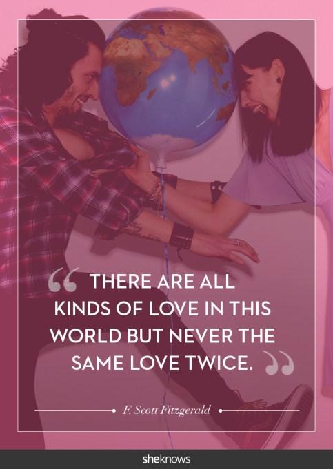 F. Scott Fitzgerald love quote