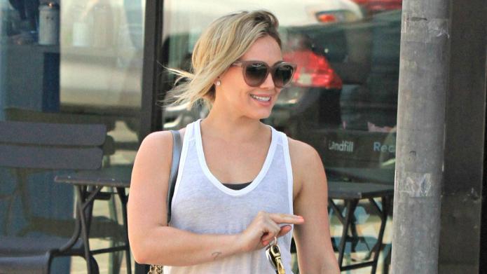 Hilary Duff's morning chop: See pics