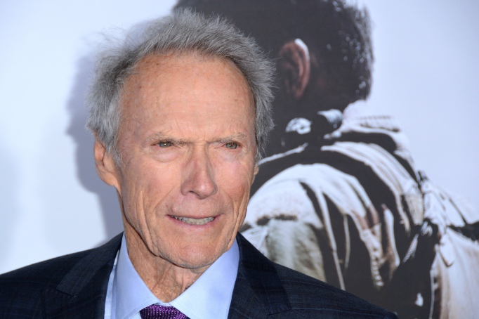 Actor Clint Eastwood on the red carpet