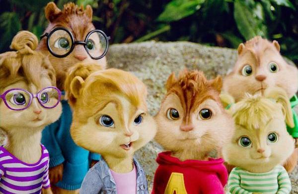 Top 5 Redbox DVDs: Chipmunks and