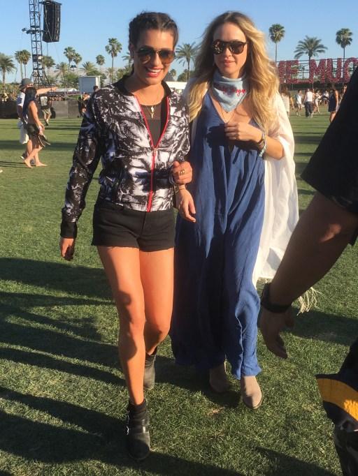 Lea Michele Coachella