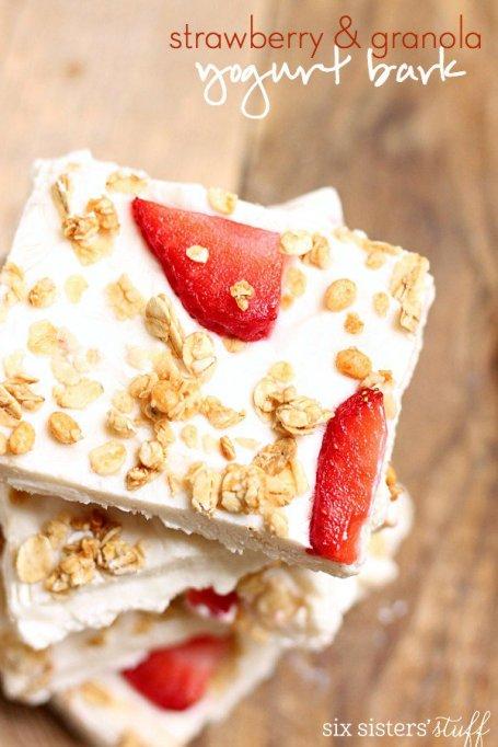 Best Snacks: yogurt bark