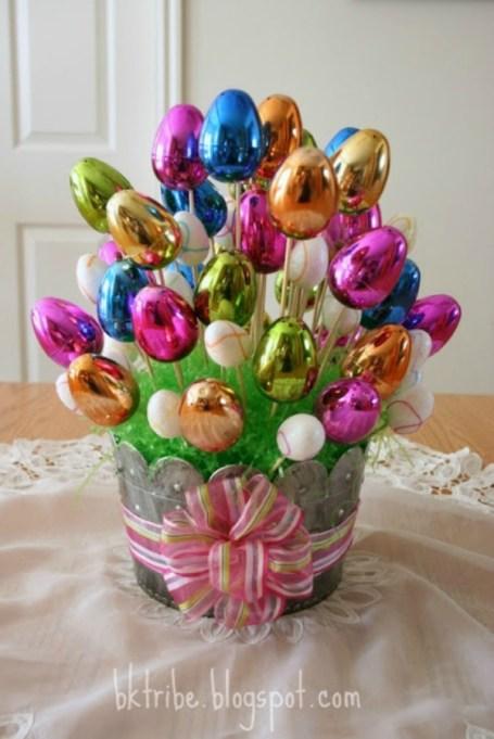 egg bouquet centerpiece