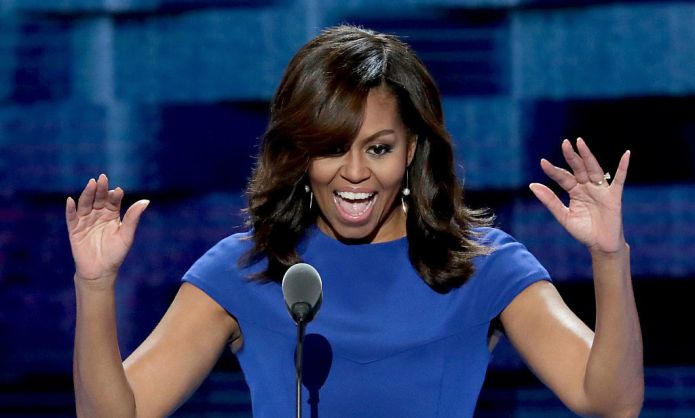 Michelle Obama just played the mom