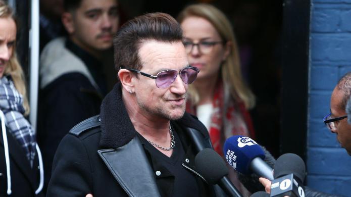 Bono won't be back on stage