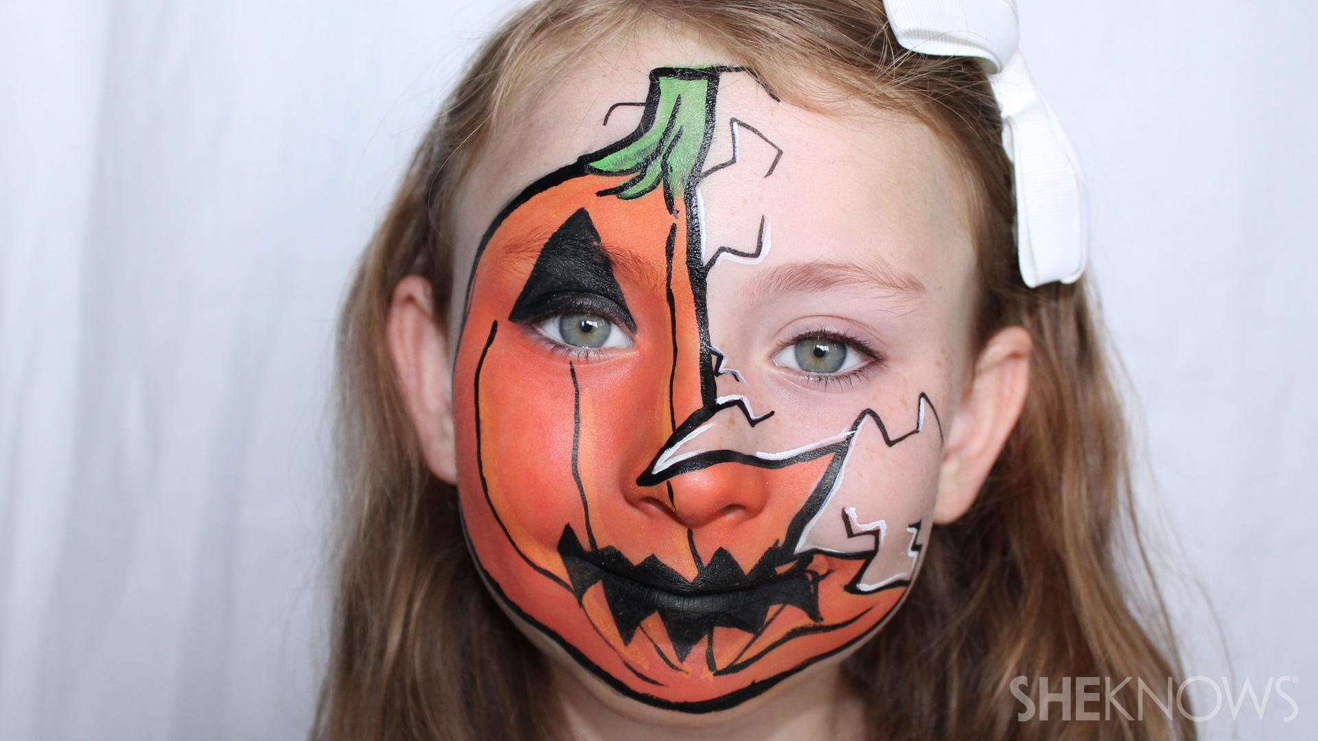 3 Halloween Face Paint Tutorials That Will Win Your Kid Best Costume Sheknows