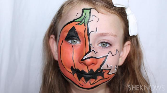 3 Halloween face paint tutorials that