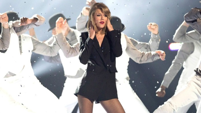 This dancer flips out over Taylor