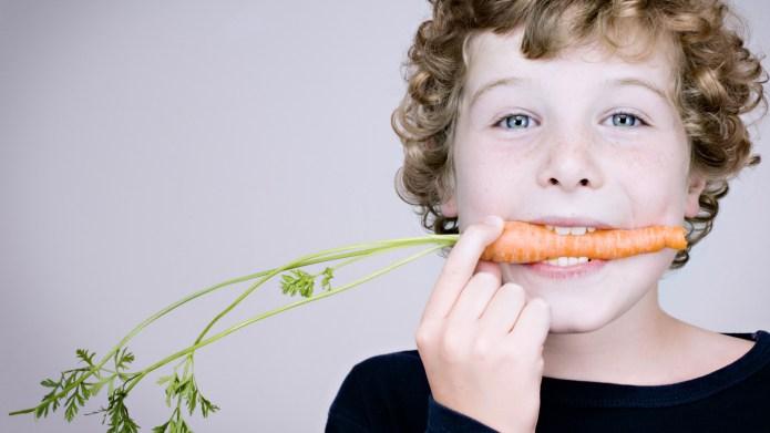 How to raise healthy vegetarian children