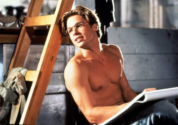Brad Pitt in The Favor