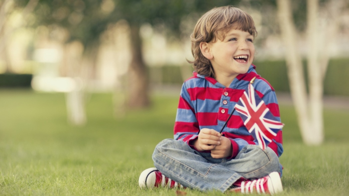 Brilliant British names for bouncing baby
