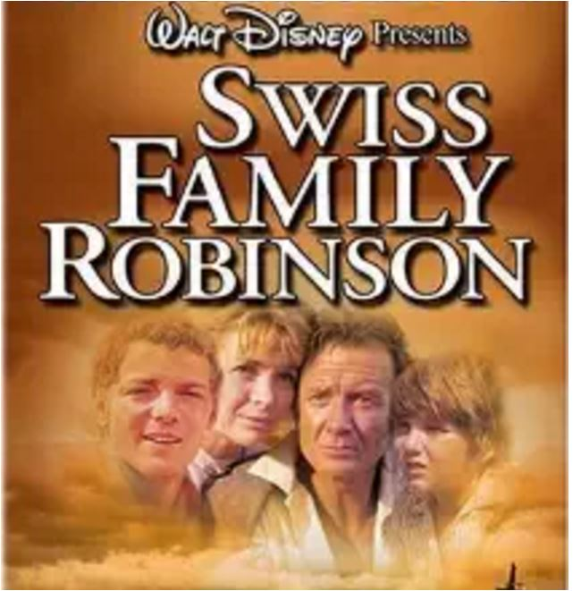 'Swiss Family Robinson' movie poster