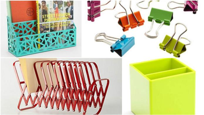20 Colorful office organizers under $20