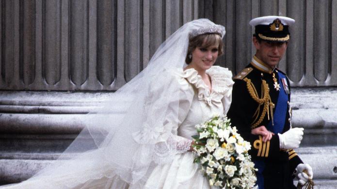 Princess Diana's wedding dress finally being