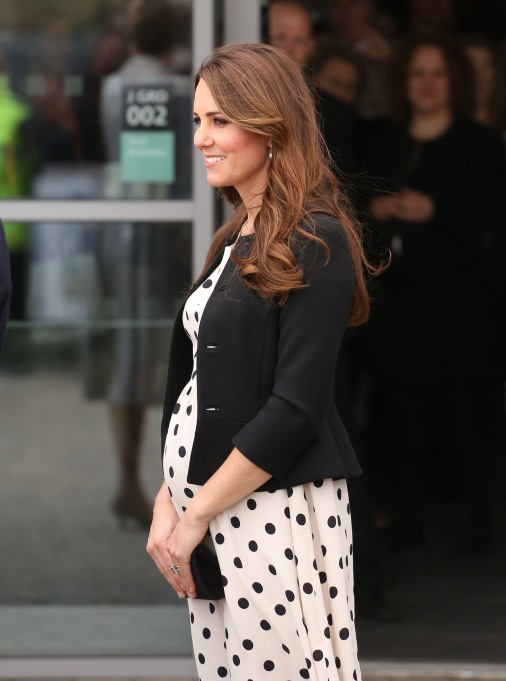 Kate Middleton polka dot dress
