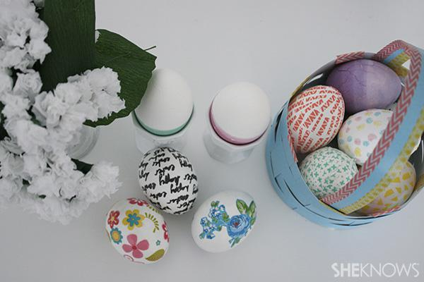 5 DIY Easter eggs