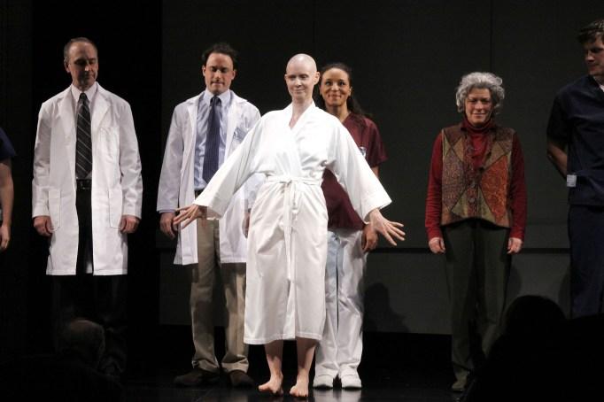 Cynthia Nixon in the Broadway play Wit