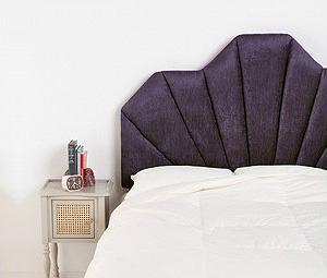 8 Glamorous upholstered headboards