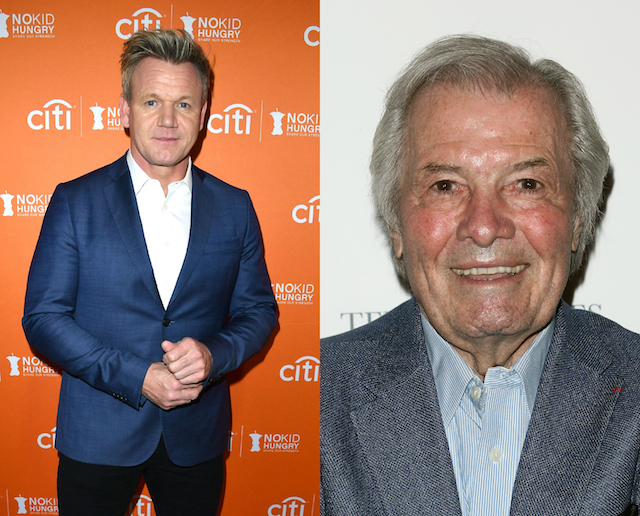 Gordon Ramsay's has been with a lot of people: Jacques Pepin