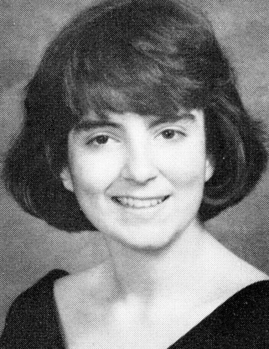 Tina Fey Yearbook Photo