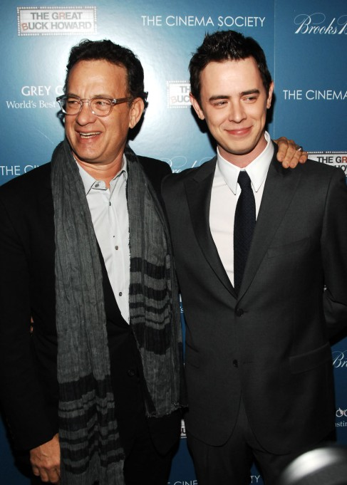 Colin Hanks and Tom Hanks
