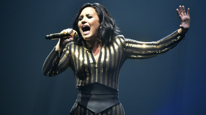 Demi Lovato's hanging out with yet