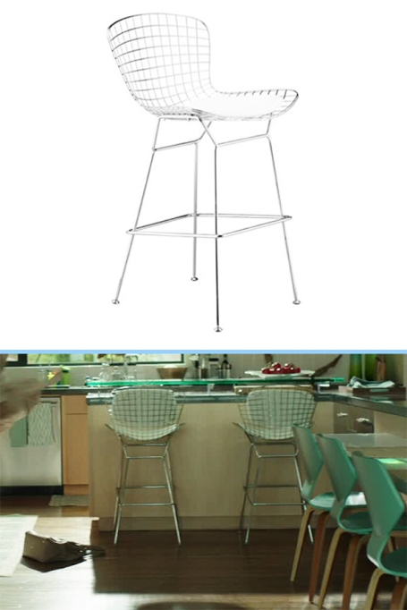 JCPenney wire bar stool