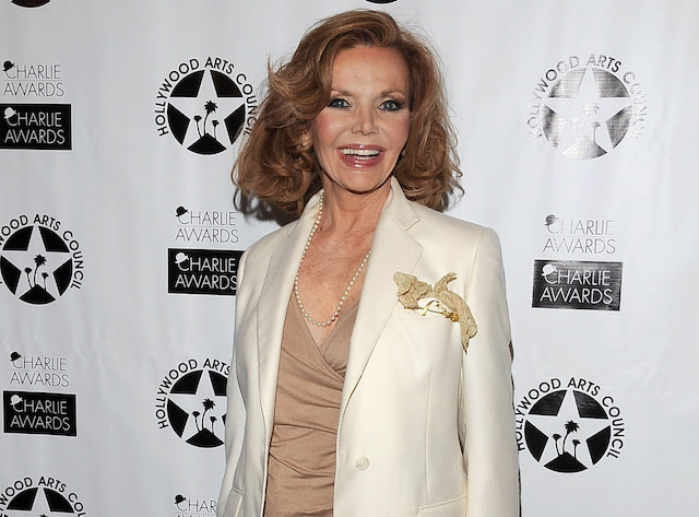 Deanna Lund poses during the Hollywood Arts Council's 25th Annual Charlie Awards Luncheon