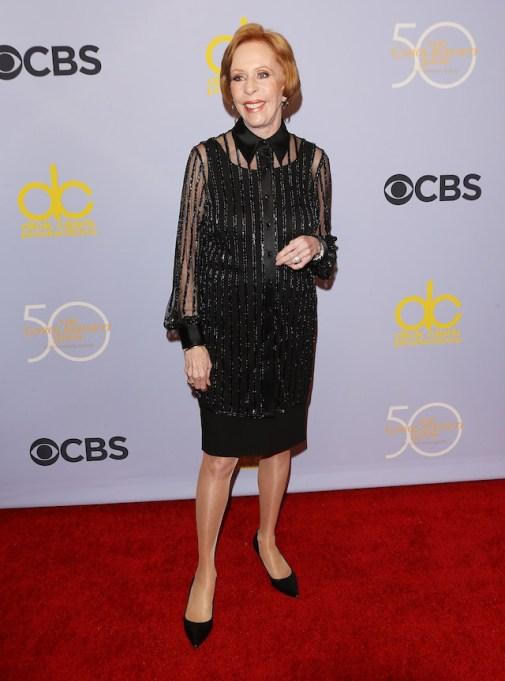 Carol Burnett attends 'The Carol Burnett Show - 50th Anniversary Special' held at CBS Television City