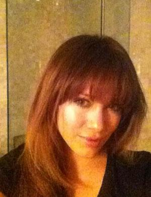 Hilary Duff's new bangs