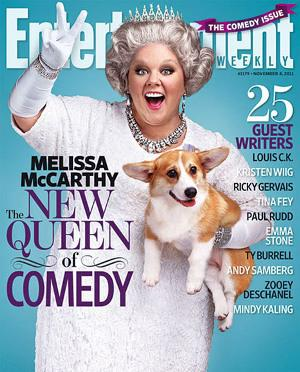 Melissa McCarthy suffers hanger envy