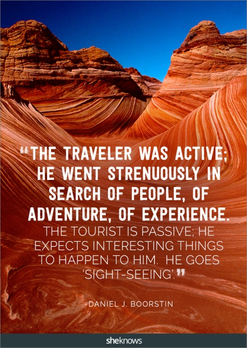 A travel quote by Daniel J. Boorstin