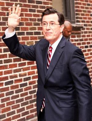 Stephen Colbert will be in The