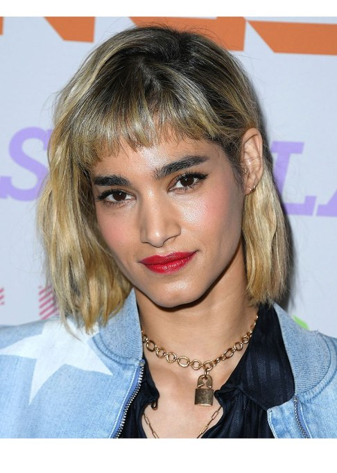 Celebrities Who Nailed Baby Bangs   Sofia Boutella