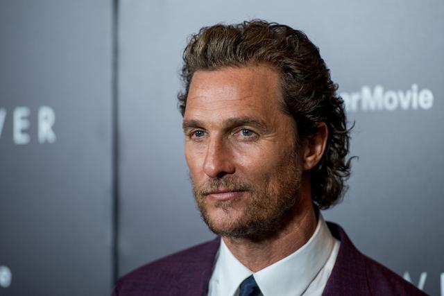 Celebs who love weed: Matthew McConaughey