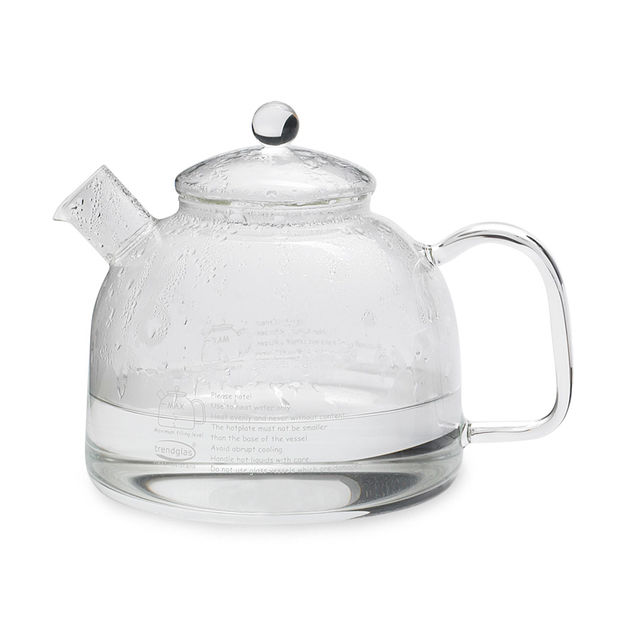 Valentine's Day Gifts For Moms: glass water kettle from MoMA Design Store