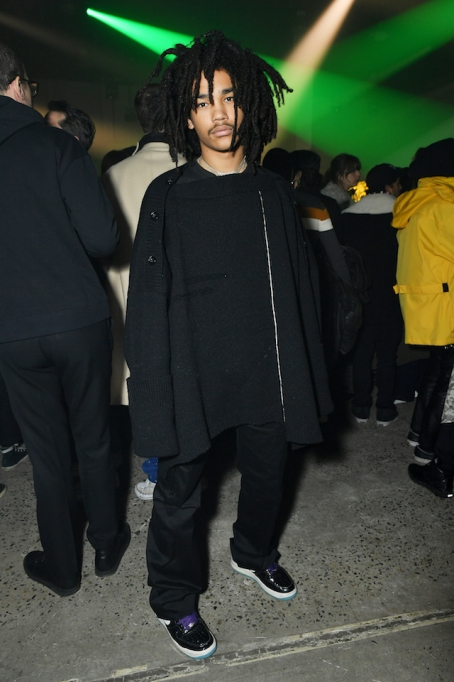 NYFW 2018 Celebrity Sightings: Luka Sabbat