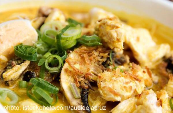 Tonight's dinner: Easy Chicken Laksa