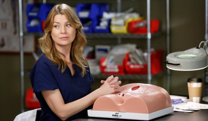 BTS Still from Grey's Anatomy