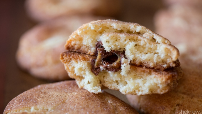 Holiday cookie hack: Stuff snickerdoodles with
