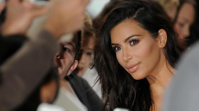 All eyes are on Kim Kardashian