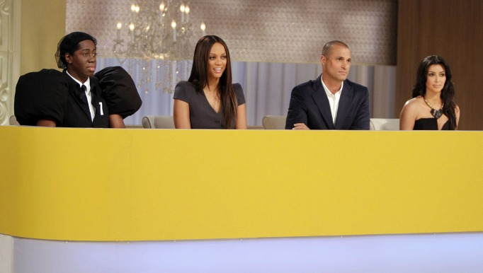 Kim Kardashian on America's Next Top Model
