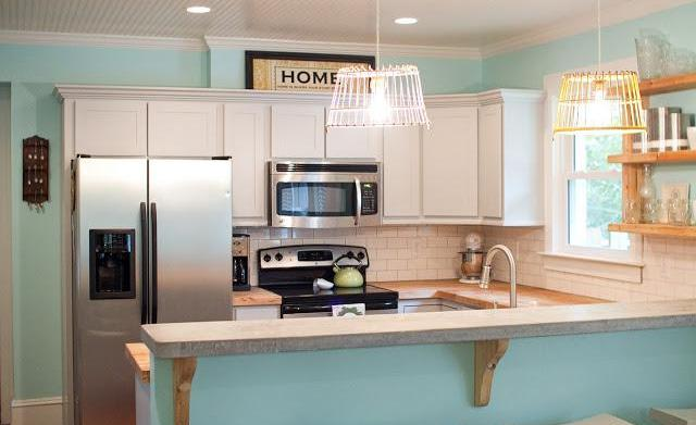 Amazing kitchens in blue color schemes