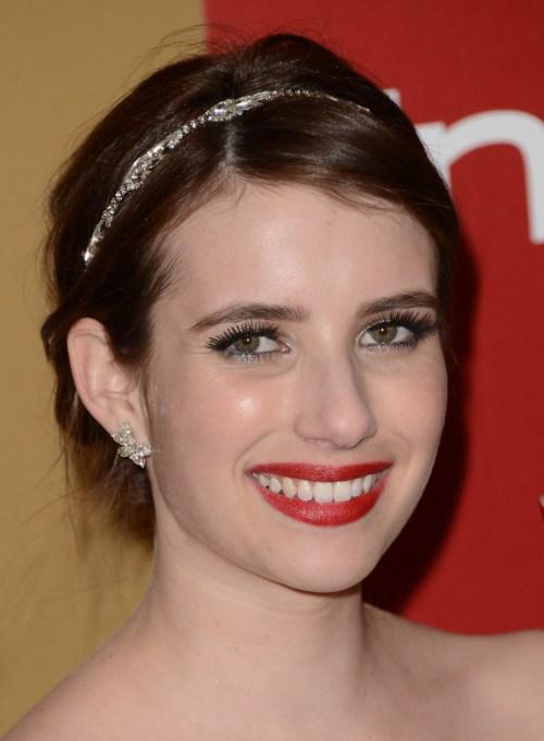 Celebrity Inspired Ways To Wear A Headband | Emma Roberts