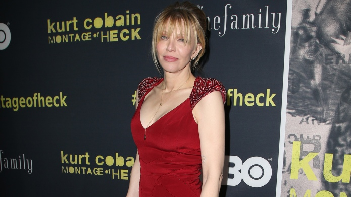 Courtney Love gets attacked for haunting